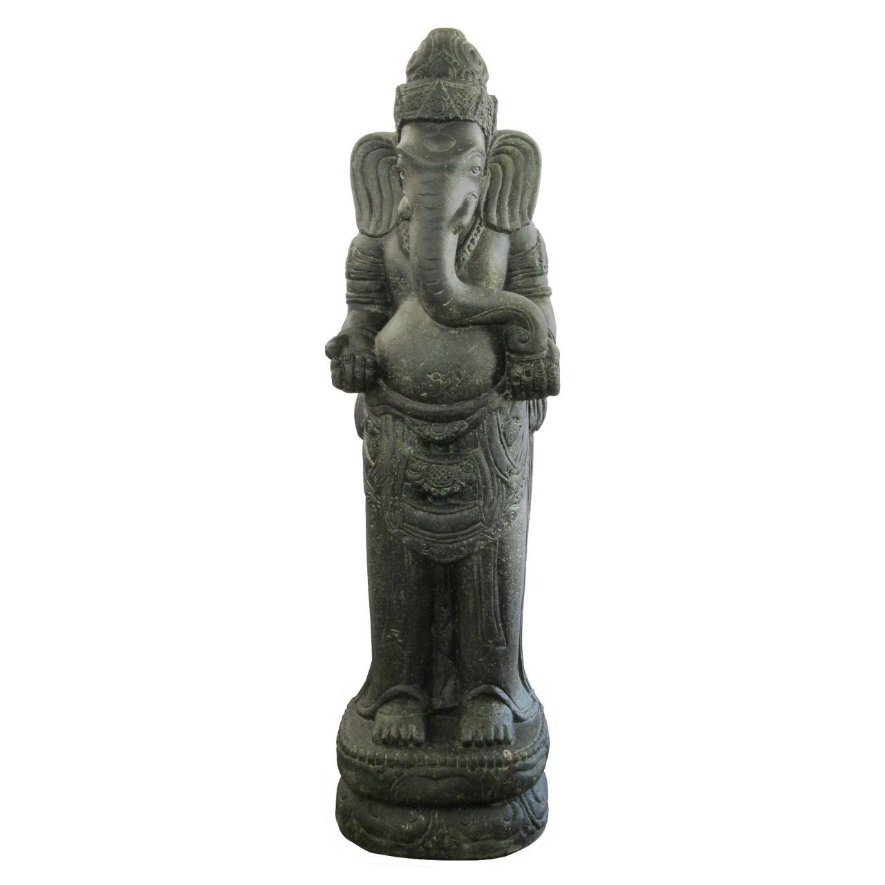 Auf Anfrage - Ganesha - Stein / Guss - 150 cm Höhe - Handwerk Indonesien
