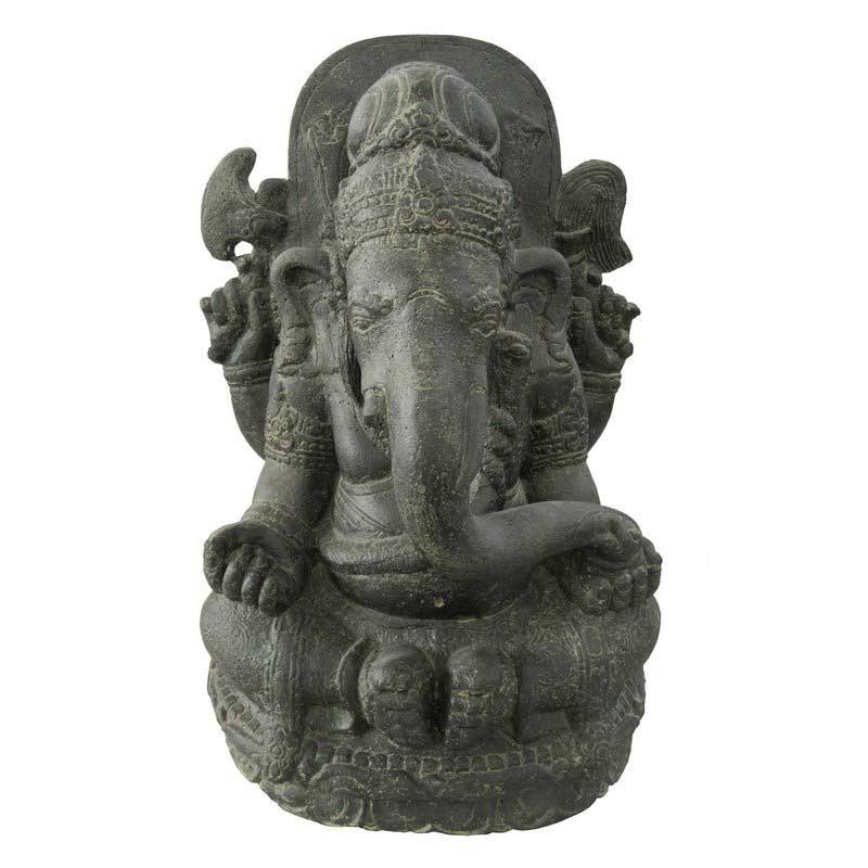 Ganesha - 70 cm - Steinguss - Indonesien