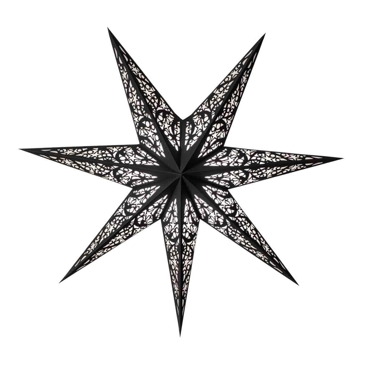 starlightz lux black - size M - Scherenschnitt Design