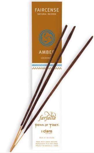 Faircense Räucherstäbchen Amber / Cocooning