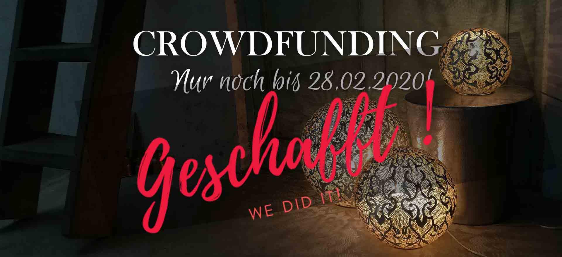 Arasian Dreams erfolgreiches Crowdfunding