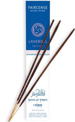 Faircense Räucherstäbchen Lavendel / Anti-Stress