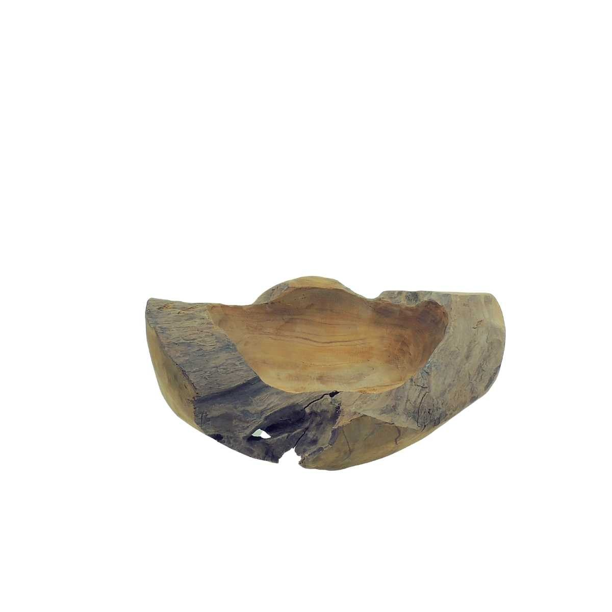 Schale Ø ca. 40cm Teakholz naturbelassen Auswahlartikel
