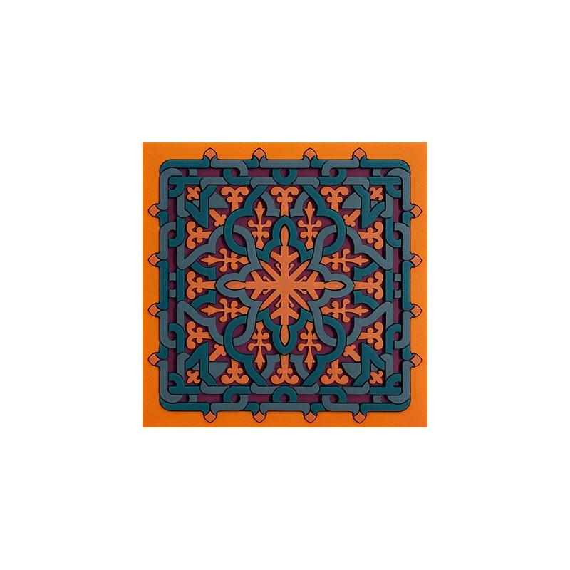 Untersetzer Silikon - Coaster Vagabonde Crochet Soie - 9x9cm
