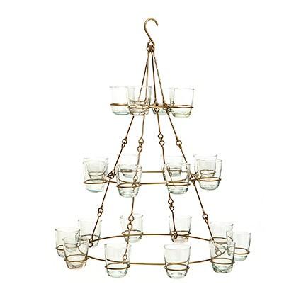 Teelicht Hänger - 22 Windlichter - Handwerk - Van Verre