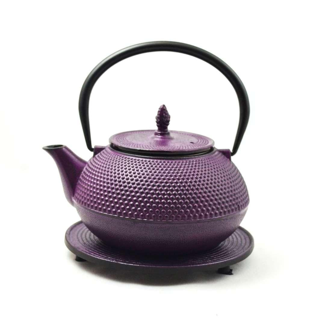 Arare purpur Teekanne 1,2L Eisen