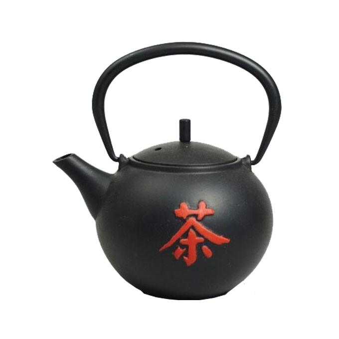 Teekanne Ocha 0.5 Liter schwarz, inkl. Teesieb