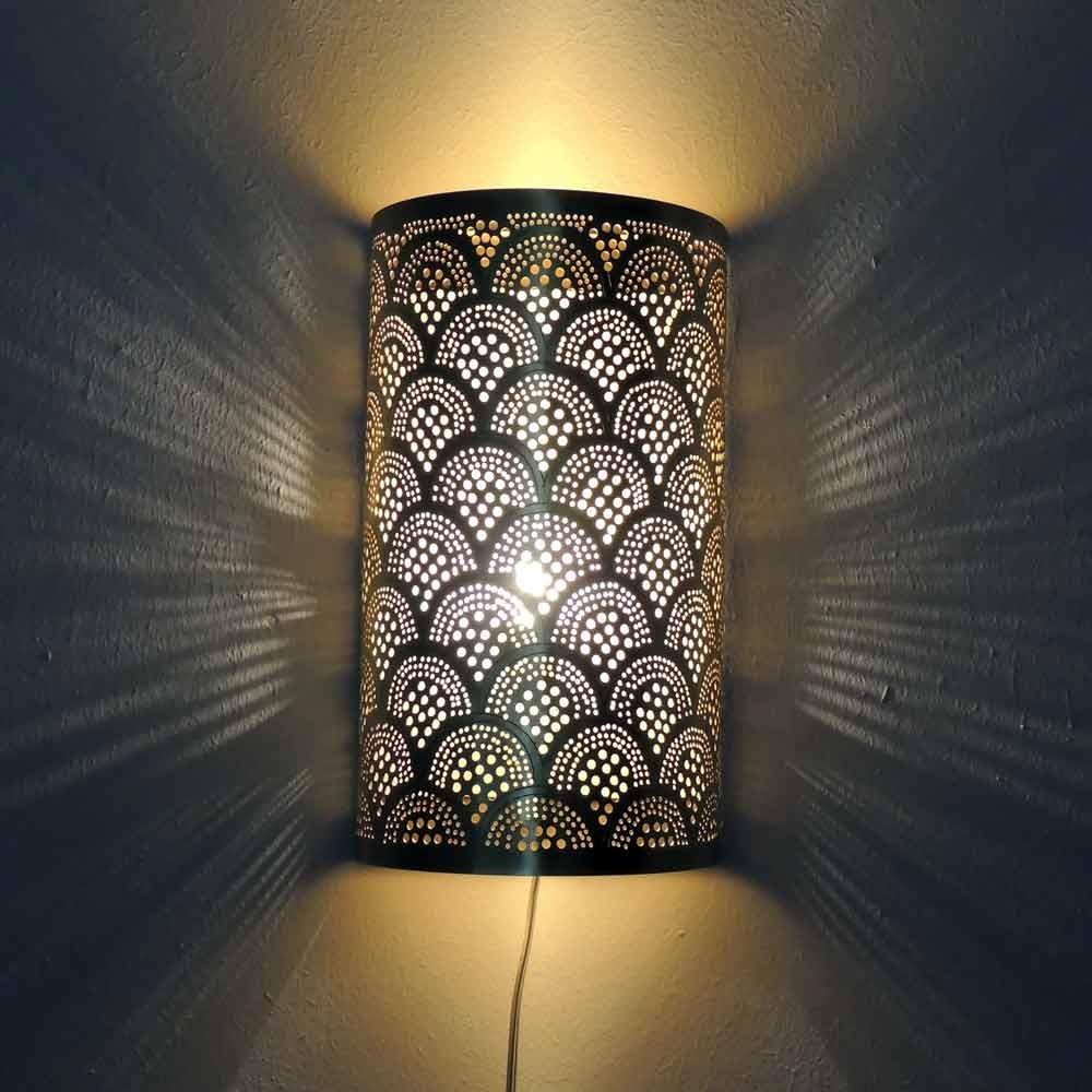 Wandlampe - Fan Small - goldfarben / Sonderedition - Zenza