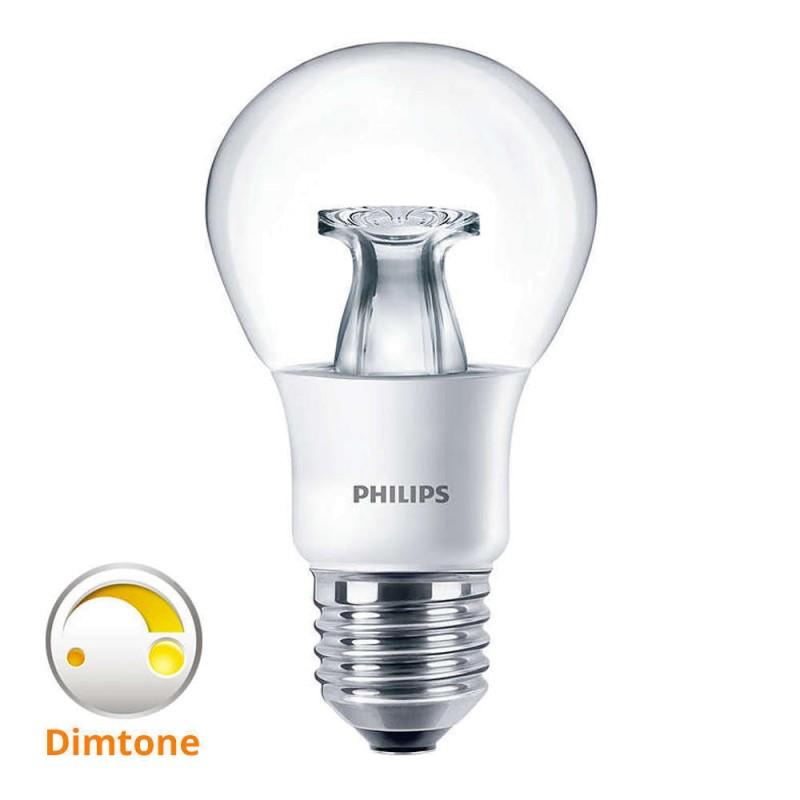 E27 - 8,5W wie 60W - dimmbar - klar - Philips Master warm white DimTone