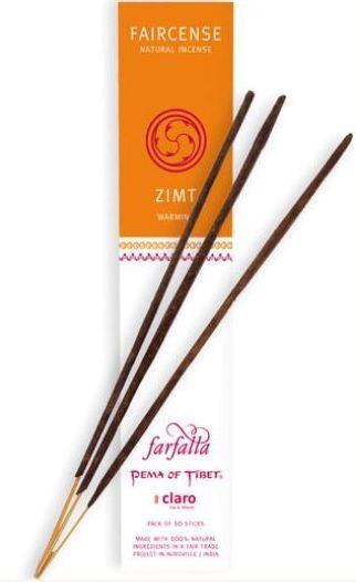 Faircense Räucherstäbchen Zimt / Warming