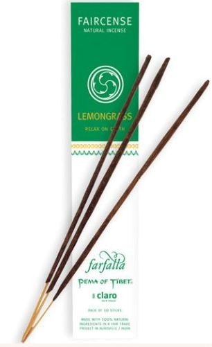 Faircense Räucherstäbchen Lemongrass / Relax on Earth