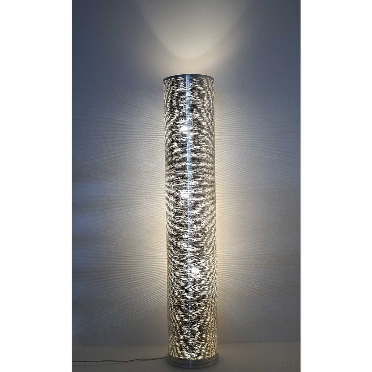Stehlampe Tipua Dots Large - versilbert - Handwerk