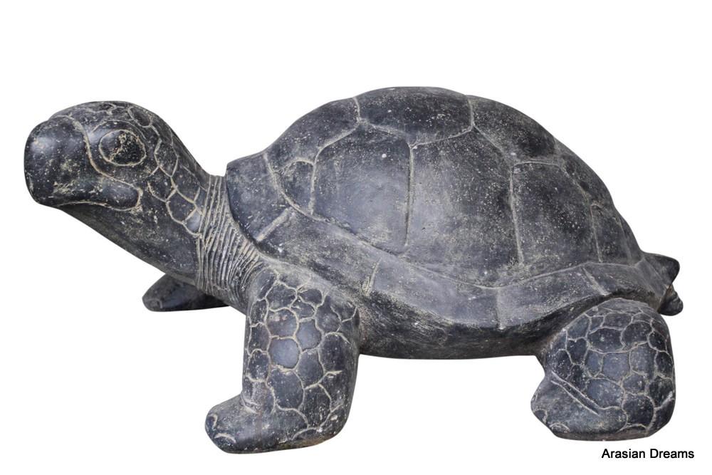 Schildkröte - Stein / Vollguss - Länge ca. 62 cm - Wonderful Indonesia