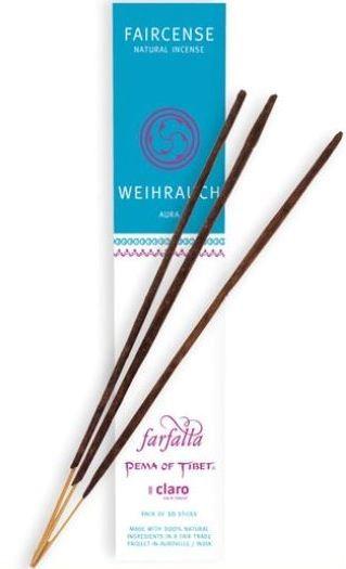 Faircense Räucherstäbchen Weihrauch / Aura
