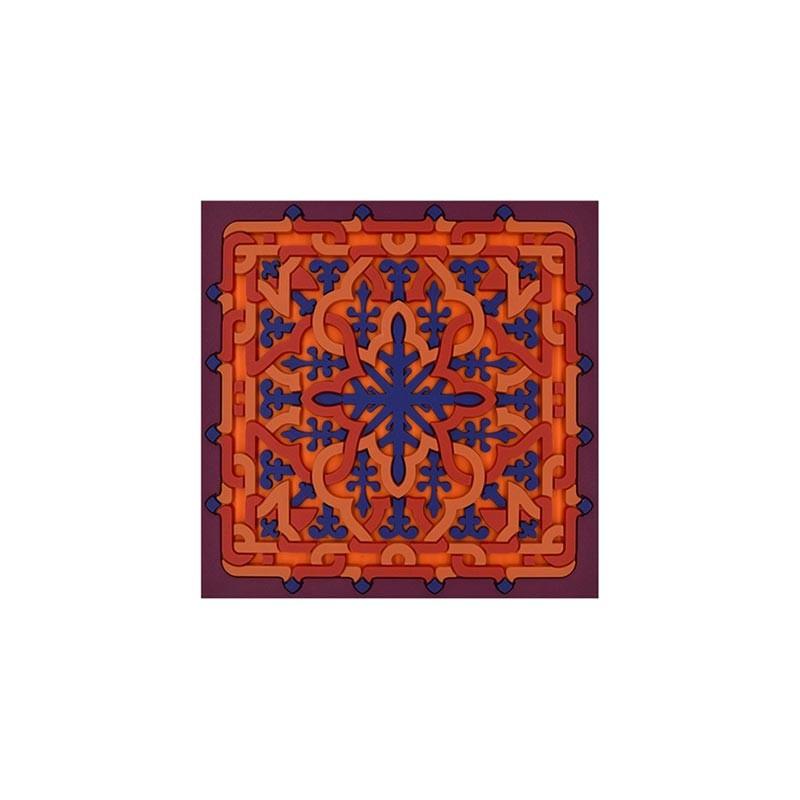 Untersetzer Vagabonde Crochet Velours 9x9cm Silikon