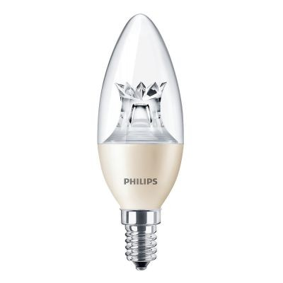 E14 - 5,5W wie 40W - dimmbar - Philips LED B35 Master Dimtone warm white